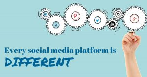Every social media platform is different